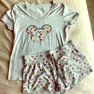 Disney pj set
